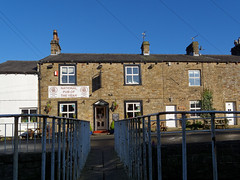 Most Important Place in the Village (scottprice16) Tags: england lancashire village pub pendleton pendle camra realale award january winter door doorway hostelry canong10