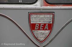 MLL 738 preserved AEC Regal IV / Park Royal one-and-a-half-deck coach - London Transport / BEA (Faversham 2009) Tags: detling bea mll738 preserved maidstone kent aec regal iv parkroyal oneandahalfdeck coach lt londontransport britisheuropeanairways badge logo
