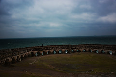 Castle of Rumeli Lighthouse (aralavci) Tags: kale castle fener denizfeneri lighthouse sea deniz rumelifeneri garipçe istanbul türkiye sarıyer ruins