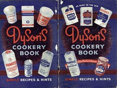 Dyson's of Wakefield - simple recipes booklet, c1955 (mikeyashworth) Tags: mike ashworth collection mikeashworthcollection wakefield rsdysons colonialworks c1955 recipebook advertising packaging primrosebrand dysonsflour