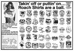 Roach Shirts 1975 (Al Q) Tags: roach shirts 1975 tee