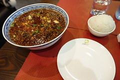 Water-boiled Beef in Chili sauce @ Saturne @ Paris