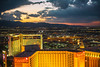 Las Vegas Sunsets (Thomas Hawk) Tags: america clarkcounty ferriswheel harrahs highroller lasvegas lasvegasstrip mirage nevada sincity usa unitedstates unitedstatesofamerica vegas fav10 fav25