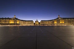 Place de la Bourse (ap_photography33) Tags: nikontop nikon infrastructure photographer place cityscape city sky q bordeaux blue
