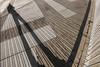 Alone with my backpack and my shadow... (- Cajón de sastre -) Tags: líneas rayas lines stripes sombras shadows silueta silhouette autoretrato selfie creativephotography creativeselfportrait lío20 nikond500 tokinaatx1120mmf28prodx
