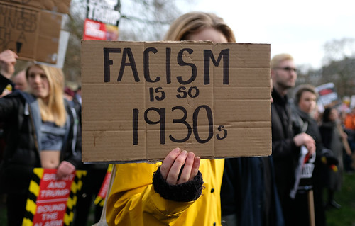 From flickr.com: Fascism is so 1930s. {MID-139072}