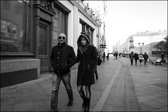 DR151107_0623D (dmitry_ryzhkov) Tags: conversation converse two sunglasses road sony alpha black blackandwhite bw monochrome white bnw blacknwhite motion movement walk walker walkers pedestrian pedestrians sidewalk woman women lady art city europe russia moscow documentary journalism street streets urban candid life streetlife citylife outdoor outdoors streetscene close scene streetshot image streetphotography candidphotography streetphoto candidphotos streetphotos moment light shadow people citizen resident inhabitant person portrait streetportrait candidportrait unposed public face faces eyes look looks man men