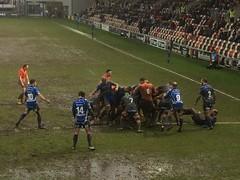 Rodney Parade (Dickie-Dai-Do) Tags: seanrobinson niccudd rhysbuckley adamhughes dorianjones sarelpretorius newcastle water rain wet rugby newportgwentdragons newport rodneyparade