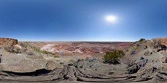 US-AZ Petrified Forest NP - Painted Desert Tawa Point 2016-07-04 (N-Blueion) Tags: