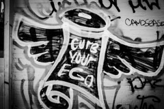 SignOfTheTimes (Street Witness) Tags: graffiti scrawl les nyc eldridge street 28mm canon fd mount manual focus lens