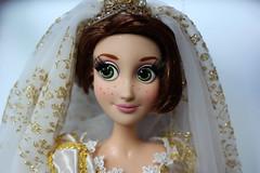 Wedding Rapunzel- Face Closeup 4 (rtkes) Tags: doll disney rapunzel limitededition tangled limitededitiondoll disneylimitededitiondoll weddingrapunzel disneylimitededitionrapunzel