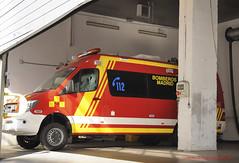 Nueva Mercedes Sprinter. Bomberos del Ayuntamiento de Madrid (juanemergencias) Tags: