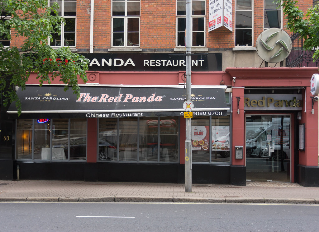 BELFAST CITY MAY 2015 [RED PANDA CHINESE RESTAURANT] REF-106395