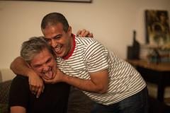 Nawaf and I (Dlirante bestiole [la posie des goupils]) Tags: home fun saudiarabia nawaf riyad arabie