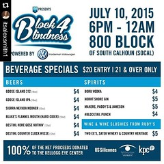 See you there Friday night for the #Blocktail Party! 100% of proceeds go to a great cause. Come out to support, drink a few wine slushies, and have a great time! #downtownfortwayne #fortwayne #kelloggeyecenter #block4blindness #abetterfort #socal #vorderm (reg.vorderman) Tags: volkswagen vorderman vordermanvolkswagen httpvordermanvolkswagencom
