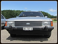 Ford Granada Turnier MkII 2.8i, 1979 (v8dub) Tags: auto old 2 classic ford car station wagon automobile break estate 8 automotive voiture ii german granada oldtimer sw oldcar 1979 combi turnier mk collector youngtimer wagen pkw klassik worldcars