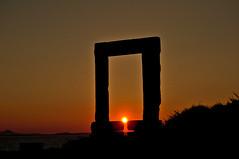 Alignment - Naxos - Greece (xosediego) Tags: travel sunset sky history nikon outdoor aegean greece kit 1855mm nikkor greekislands apollo ubuntu naxos dx portara palatia darktable d3100