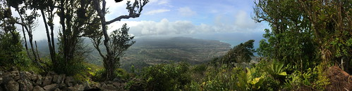 View From Atop the Gran Piton