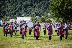 Pipeband (FotoFling Scotland) Tags: scotland kilt perthshire event drummers aberfeldy highlandgames bagpipe pipeband
