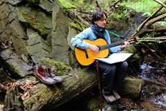 Story of a man (Francesco Carradori) Tags: music guitar chitarra musica experience travel wood green nature musician artist traveler viaggiatore natura bosco esperienza viaggio