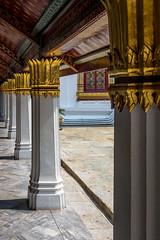 2016_04-Bangkok-M00035 (trailbeyond) Tags: architecture asia bangkok building column gold indoors location marble religiousbuilding temple templeoftheemeraldbuddha thailand thegrandpalace watphrakaew white