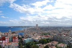 Good morning Havana! (Borja García de Sola Fernández) Tags: havana cuba lahabana malecón ciudadvieja paisaje landscape sunny clouds sol nubes