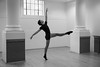 DancePhotoLondon (cath dupuy) Tags: ballet dance contempory balletdancers dancers studio london blackandwhite tutu enpointe pointeshoes jump jete windows pillars mirror ballerina