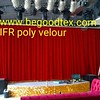 Inherent flame fire retardant poly velour fabrics for stage and theatre. with 250 GSM-400 GSM,160 cm (begoodfrtex) Tags: flikr