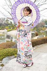 278A0435 (tsuchinoko36) Tags: 佐野真彩 撮影会 モデル タレント キャスター 撮影 写真 ポートレート 振袖 花田苑 portrait photo japan furisode 着物 kimono