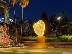 un coeur en hommage_PC140080 (PhotosLP06) Tags: coeur noël hommage victimes nice mémorial nuit