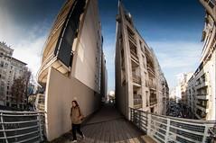 Paris, coulée verte, 1 (Patrick.Raymond (3M views)) Tags: 75012 paris coulée verte immeuble building fisheye tokina hdr nikon