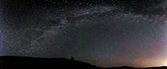 Jump ! (Markus Nissa) Tags: sky stars étoiles nuit ciel voie lactée milky way night panoramique pano d700