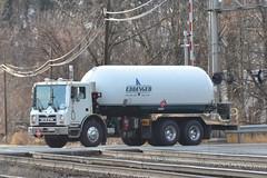 Mack MRU613 Propane Truck (Trucks, Buses, & Trains by granitefan713) Tags: mack macktruck tanktruck fueltruck propane propanedelivery propanetruck terrapro mackterrapro mackmru mackmru613 tandem coe cabover