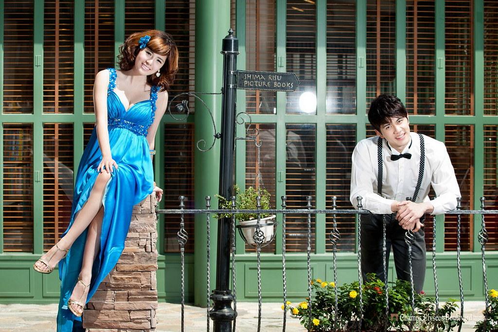 婚紗作品,東區街頭,美麗華,澳美佳馬術俱樂部,淡水禮拜堂,婚紗攝影