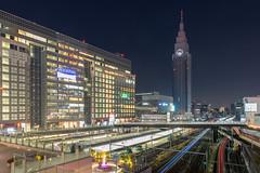 tokyo station (a.s_______6.7) Tags: canon tamron sony sigma mc11 2470 24 70 light japan tokyo station tower night car city travel life long •