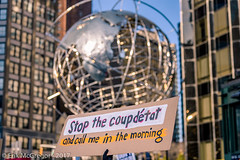 EM-170115-POST-001 (Minister Erik McGregor) Tags: 2017 art columbuscircle erikmcgregor nyc newyork photography 9172258963 erikrivashotmailcom ©erikmcgregor photooftheday activism sign easypeasy defenddemocracy dumptrump firstamendment lovetrumpshate notmypresident peacefulprotest peacefulresistance rejectpresidentelect revolution riseandresist trump trumpvsallofus streetphotography nikonphotography nikon