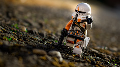 Morning Patrol (EternalSlothman) Tags: green legos force toys toy canon blocks bricks minifigures minifigs afol blasters order first troopers clone outdoors lego war wars star trooper storm t3i