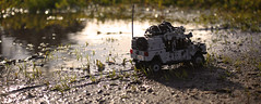 lil' muddy (Kyle Hardisty) Tags: lego all terrain vehicle suspension utility military steering photography sierra nevada mountains forest pine tree truck macro jeep humvee growler kyle hardisty explore explored mud sunlight lens flare outdoor 2017