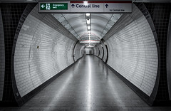 London Burrow (Nick.Richards) Tags: londonburrow london lightroom londonunderground londontube tube tunnel tcr tottenhamcourtroad centralline leadinglines nikon nikon1685 nickrichards nikefex 1685 d7100