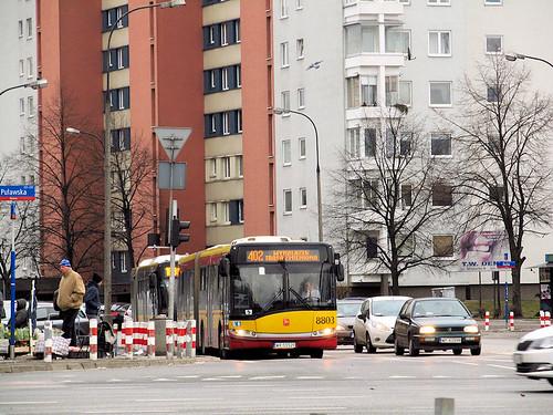 Solaris Urbino 18 III, #8803, MZA Warszawa