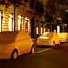 Fiat 500 in via Monte Napoleone!