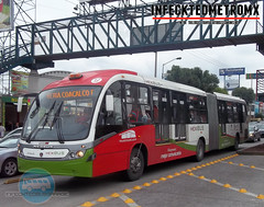 Neobus Scania Mega BRT Mexibus L-2 (infecktedbusgarage) Tags: mexico mexican brt scania mega l2 busrapidtransit edomex articulado mexicanbus estadodemexico neobus mexibus