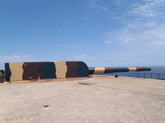 15-Inch Breach Loading Gun (Okehills) Tags: spanish british armstrong menorca lamola 15inch armstrong gun vickers bl 15inch