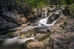 McCall Idaho Waterfall (Russell Eck) Tags: travel nature water river landscape waterfall rocks russell outdoor idaho serene eck mccall