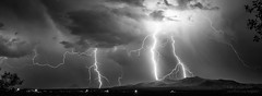 Lightning! (inlightful) Tags: storm weather strike thunderstorm plasma lightning thunder lightningstrike severeweather electricalstorm astraphobia electrostatic electrostaticdischarge fulminology