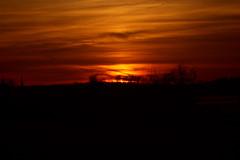 Sunset in Darfeld, Germany, 13-04-2015 (betadecay2000) Tags: winter sunset red sky orange sun rot sol fog germany star march spring yellwo sonnenuntergang nebel outdoor foggy himmel tags gelb wald mrz frhling 2015 rosendahl neblig hochnebel darfeld hinzufgen 20032015