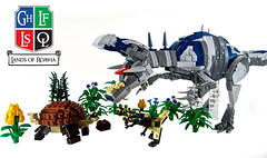 Flora and Fauna of New Lenfald (aardwolf_83) Tags: new plants animals fauna flora lego dinosaur beast poison discovery moc abner scraff roawia lenfald