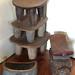 0468 Extra living room seating, Senufo, East African ebony headrest & my leopard seat