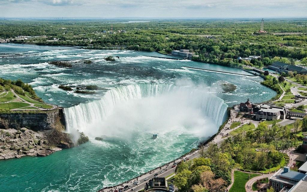 4Các thác Niagra nổi tiếng vì vẻ đẹp và nguồn giá trị cho thủy điện