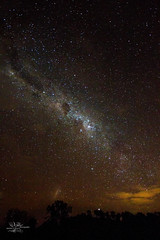 (goodgirlbetty) Tags: longexposure sunset sky playing night canon way angle wide australia milky milkyway